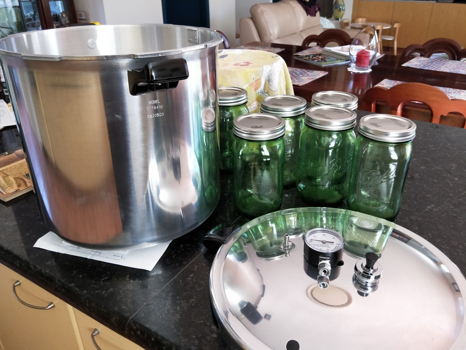 20 litre pressure canner thread
