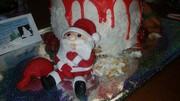 Hungry Santa and Rudolph