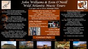 John Williams, Eoin O'Neill and Wild Atlantic Music Tours