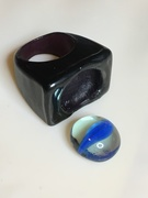 """Wax Carving """"Lost my Marbles"""" Ring"""