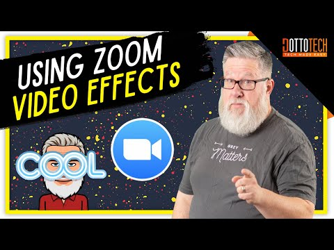 Zoom Video Effects - Green Screen and Background Tutorial