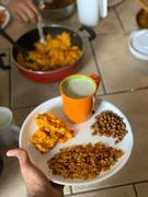 Vaghareli rotali, bafela chana, avocado shake, soji no upama