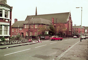St Paul's Church & Vicarage Before the Fire, 1980
