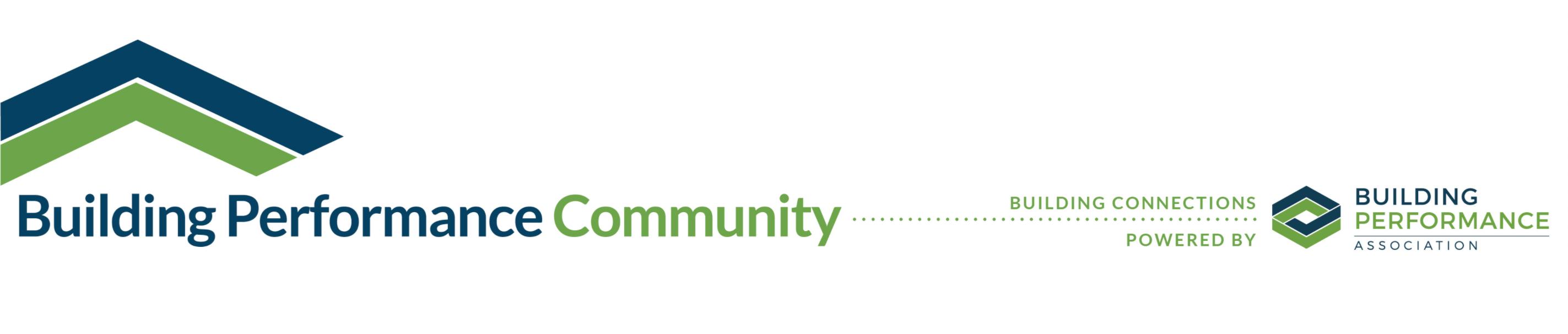 Building Performance Community Logo