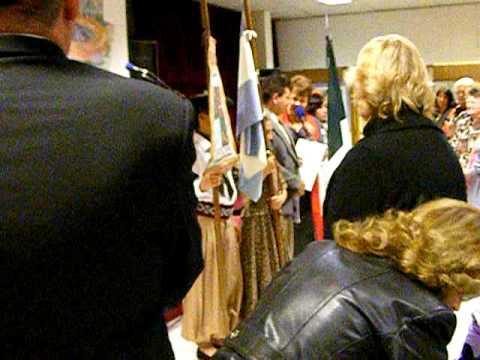 Susana de Zucchelli y Jesús Cruz Flores en la inauguración del Cultural Mar del Plata 2009.