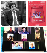 World Day of Safety And Health Propagated by Marwah Studios