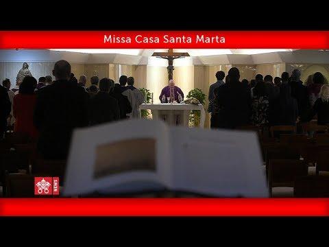 Santa Marta, 1 maio 2020, Papa Francisco