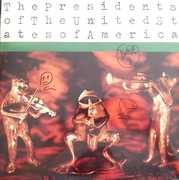 The Presidents of the United States of America debut LP (2020 Green Vinyl kickstarter campaign) band signed