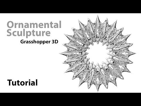 Grasshopper3d Tutorial inspired by Sagrada Familia