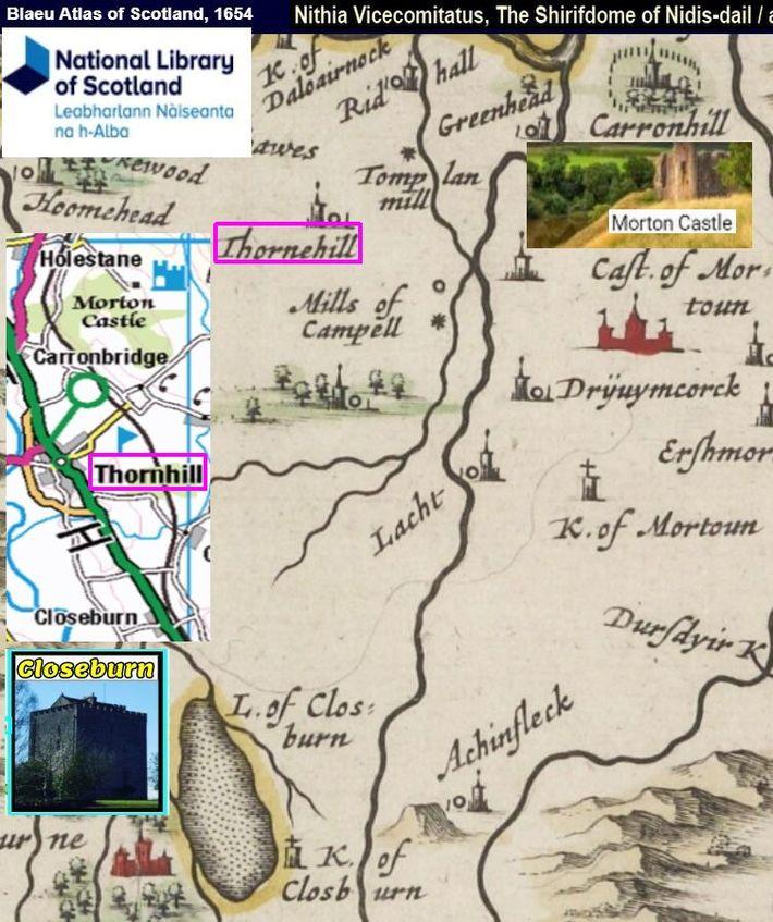 Thornhill Morton Castle Closeburn