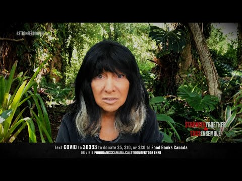 Buffy Sainte-Marie delivers powerful spoken word poem | Stronger Together