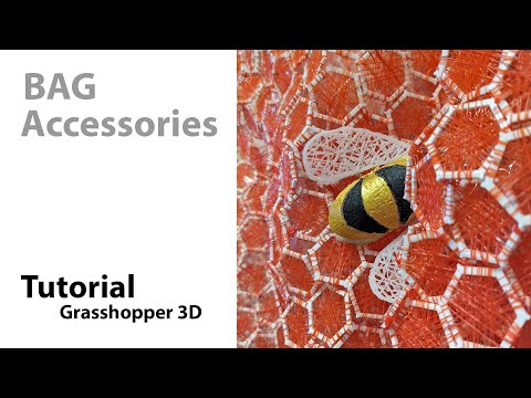 Generate Accessories with Grasshopper3D - Tutorial