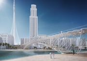 Dubai Creek Harbour Footbridge
