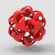 Wave on Icosahedron
