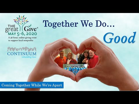 Continuum x The Great Give® 2020: Together We Do Good