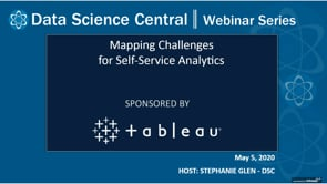 DSC Webinar Series: Mapping Challenges for Self-Service Analytics