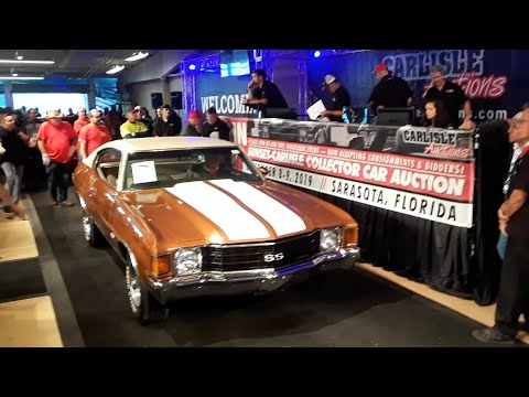 1972 Chevy Chevelle SS The Heartbeat Of America and the 2019 Fall Carlisle Auction