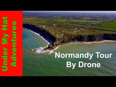 Normandy Tour by Drone