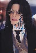 Michael Jackson signed 2006
