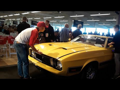 1973 Ford Mustang Mach 1 Original, Low Mileage, Muscle at the 2019 Fall Carlisle Auction