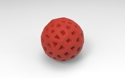 very red ball