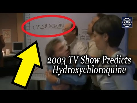 Hydroxychloroquine Predicted as Pandemic Miracle Cure in 2003 Show
