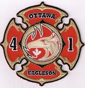 OTTAWA FIRE DEPARTMENT CAR 40/PUMPER 41/PUMPER TANKER 41/SQUAD 41-OTTAWA, CANADA(NATIONAL CAPITAL REGION)