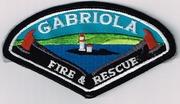 GABRIOLA FIRE DEPARTMENT- GABRIOLA ISLAND, CANADA(REGIONAL DISTRICT OF NANAIMO)