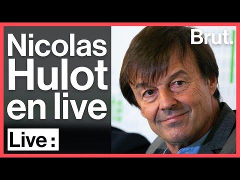 L'appel pour le monde d'après de Nicolas Hulot en direct sur Brut