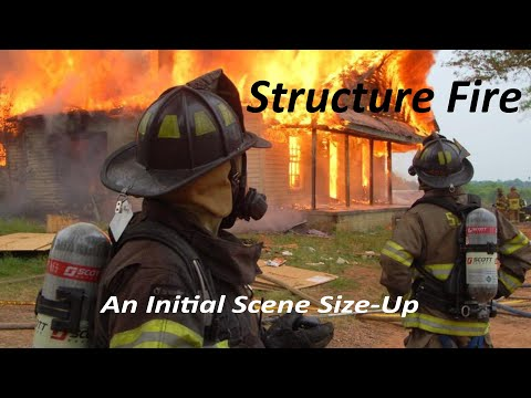 Structure Fire - Learning to Give a Good Initial Scene Size-up