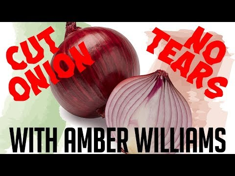No Tears Tip for Cutting an Onion - POV Italian Cooking Special Episode
