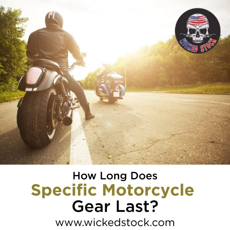 How Long Does Specific Motorcycle Gear Last?