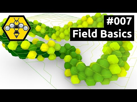 Wasp for Grasshopper #101 - Tutorial #007: Field Basics