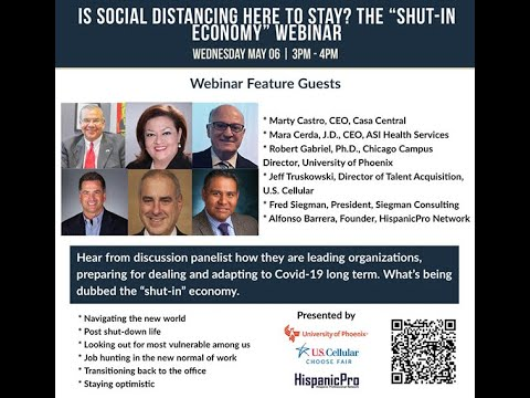 "Is Social Distancing here to stay? The ""Shut-in Economy"" Webinar"