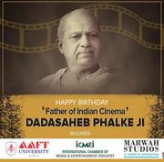 AAFT Celebrated Birth Anniversary of Dada Saheb Phalke