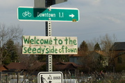 """Seedy"" side of town"