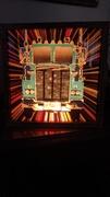 ULTRA RARE FANTASIA Co. SEMI TRUCK Glitter Graphics Lamp