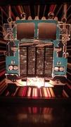 ULTRA RARE FANTASIA Co. SEMI TRUCK Glitter Graphics Lamp 2