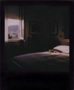 Tramonto sul letto