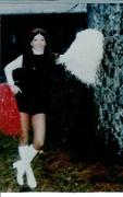 Denise Bauer Forrester-Falcon Cheerleader, 1975