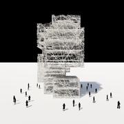 Random Crossing Tower