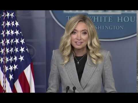 WH Press Secretary McEnany trashes FBI Flynn investigation