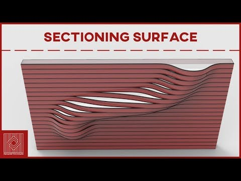 Grasshopper Tutorial (Sectioning Surface)