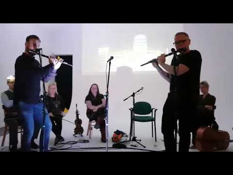 Irish Flute duet Michael Walsh & Paul Daly #Quarehawk