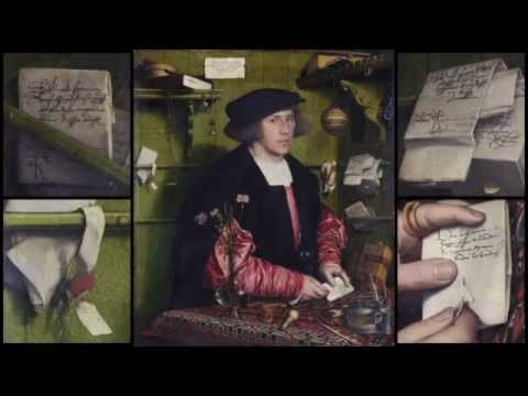 L'Art en Question 9 : HOLBEIN - Le Marchand Georg Gisze