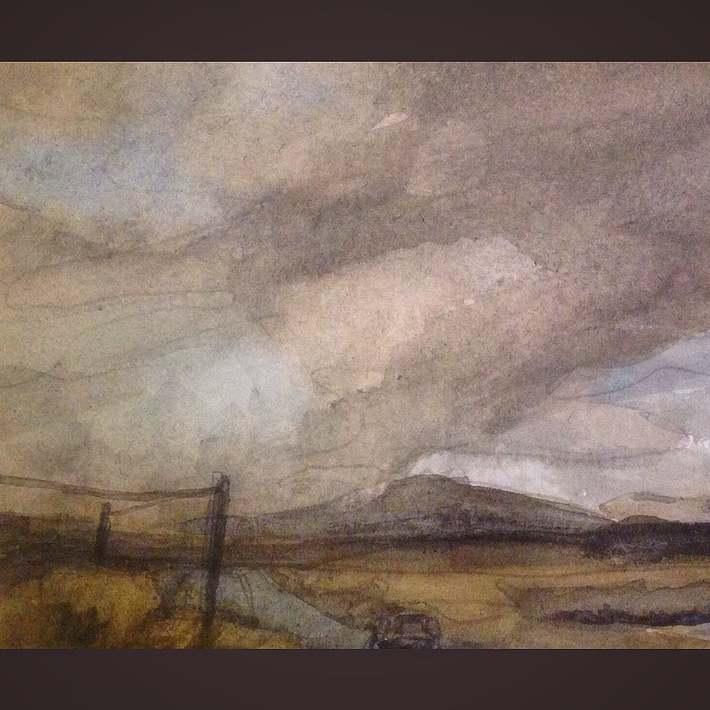 Connemara clouds