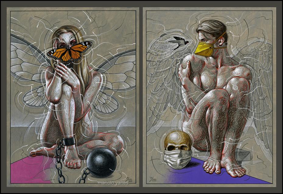 Fata prigioniera / Angelo mascherato