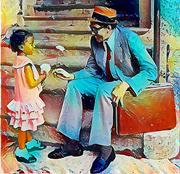 JIMMY SCOTT & The Little Flower Girl    ~