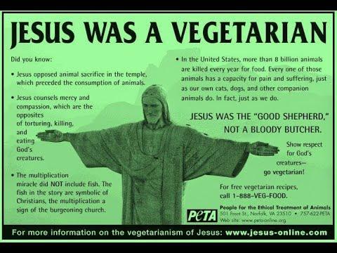 Vegetarian Sayings of Jesus -- Today on Spiritual Awakening Radio