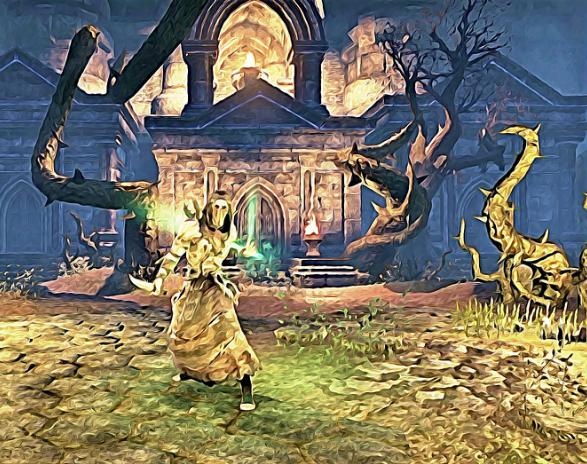 Character Build: The Dark Druid - Skyrim Character Building